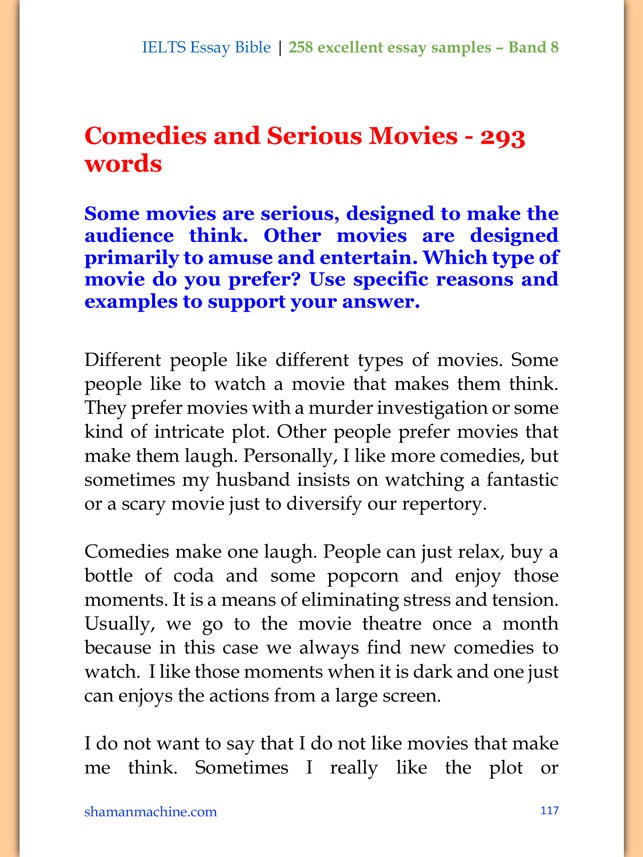 258 IELTS Essay Samples of Band 8 - Academic & General Modules on ...