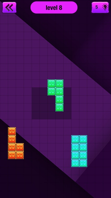 Block Puzzle Fantasy – Best Brain Game.s for Kids and Adults with Colorful Building Blocks screenshot-3