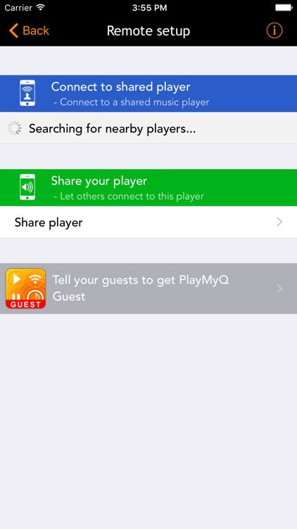 PlayMyQ HD - Music Player • Remote • Jukebox