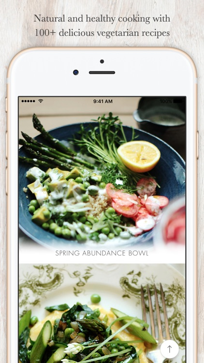 Healthy Vegetarian Recipes by My New Roots app image