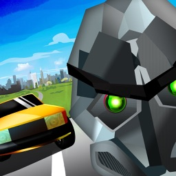 Sahin Abi Traffic Racer Runner Robot V2
