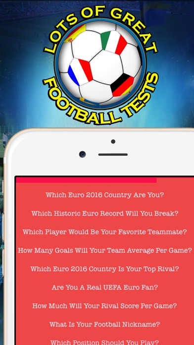 Which Euro 2016 Country Are You? - Foot-ball Test for UEFA Cupのおすすめ画像5