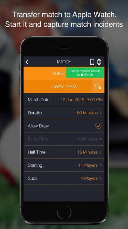 GOREF – Football Referee App for Apple Watch. screenshot-3