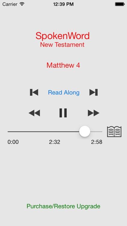 SpokenWord Audio Bible - New Testament