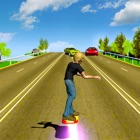 Hoverboard Racer 3D icon