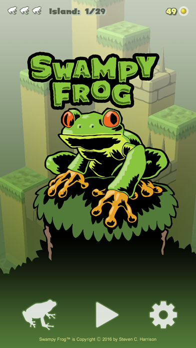 Swampy Frog screenshot one