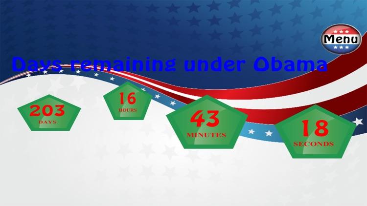 Presidential Countdown Pro screenshot-3