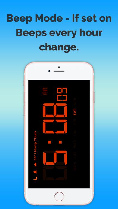 デジタル時計、予測無料のおすすめ画像4