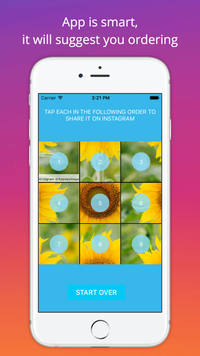 Grid Style for Instagram - Instagrid Post Banner sized full size Big Tiles for IG screenshot three