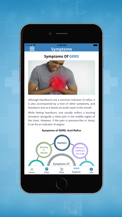 GERD, Heartburn and Acid Reflux Symptoms & Remedies screenshot three
