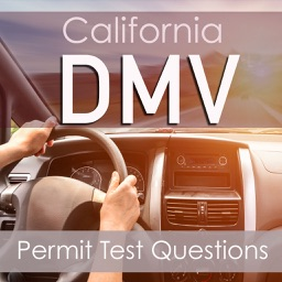 California DMV : Practice Questions for the Written Permit Driving Test ( 2600 Flashcards Q&A )