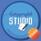 Autograph Studio Lite is an application designed to capture the experience of getting an autograph