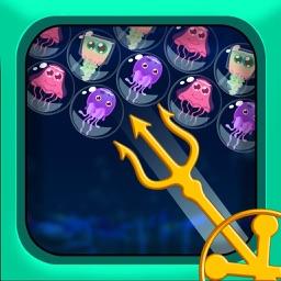 Bubble Shooter: Jelly Fish Popper Pro