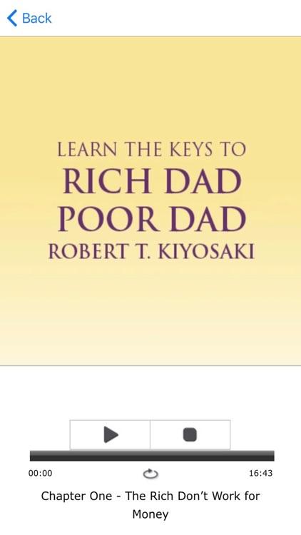 Rich Dad Poor Dad Meditation AudioBook By Robert T. Kiyosaki screenshot-3