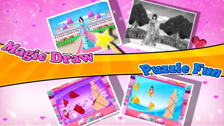 Princess Coloring Book - Draw, Paint & Color Games screenshot-4