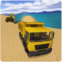 Transport River Sand – 3D City Transporter Truck Driver Simulator Game