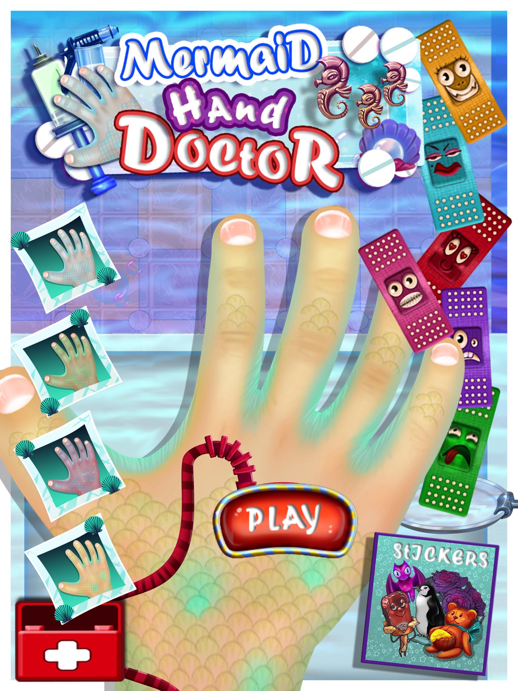 Mermaid Hand Doctor Hospital Little Fantasy Adventure Time ...