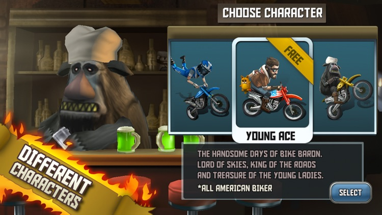Bike Baron screenshot-4