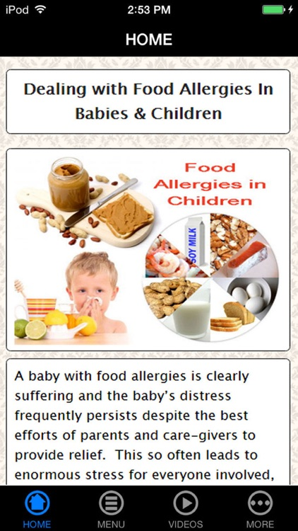 How to deal with food allergies baby symptoms reaction how to deal with food allergies baby symptoms reaction prevention forumfinder Choice Image