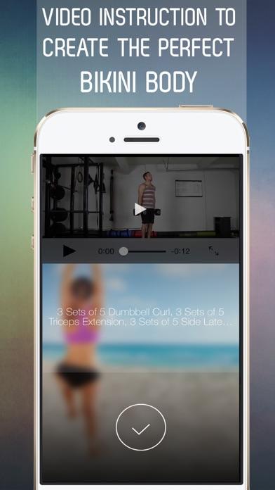 30 Day Bikini Body Workout Challenge for Full Body Toneのおすすめ画像3