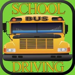 Fast School Bus Driving Simulator 3D Free - Kids pick & drop simulation game free