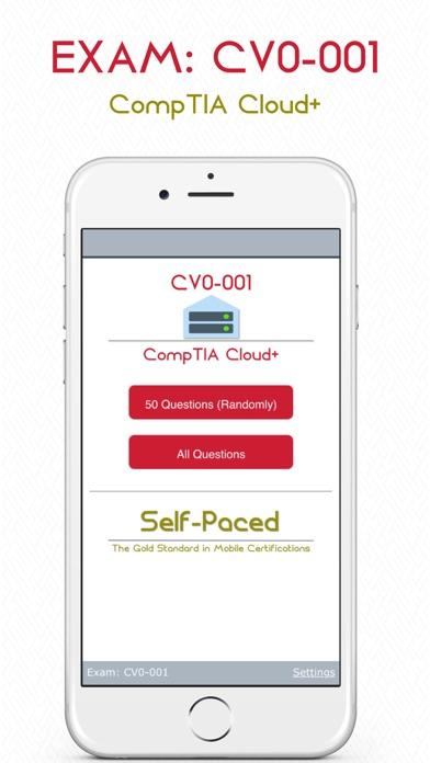 Screenshot #1 pour CV0-001: CompTIA Cloud+.