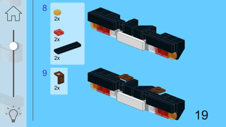 Iveco Truck for LEGO Creator 10242 Set - Building Instructions - App