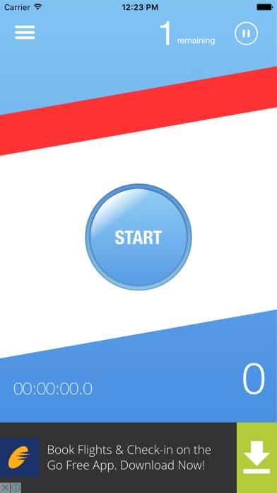 Don't Stop App screenshot one