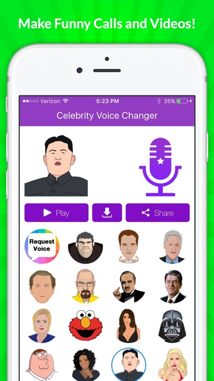 Celebrity Voice Changer - Funny Voice FX Cartoon Soundboard screenshot-4