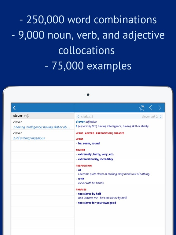 Oxford Collocations Dictionary For Students Of English App Price Drops