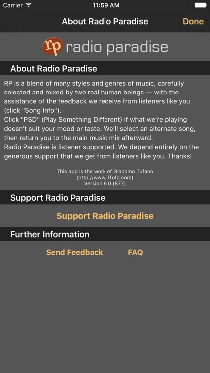 Radio Paradise Commercial-Free screenshot-3