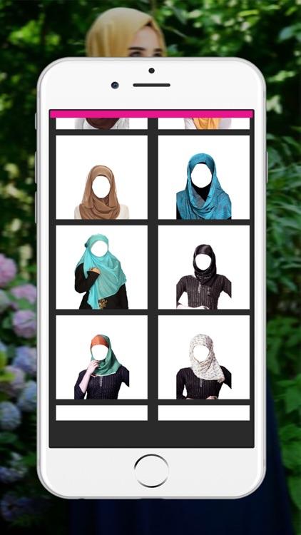 Hijab Woman Photo Montage _ Muslim Woman Wedding Dress Up screenshot-3