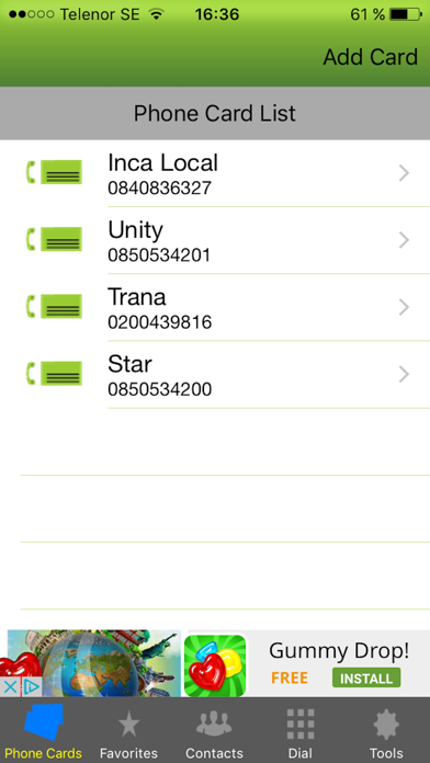 Phone Card - Dialer by Phone Card Dialler (iOS, United States