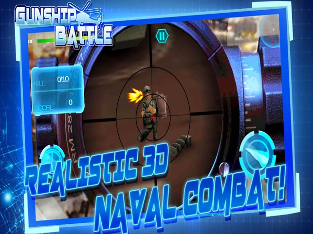Battleship Sniper 3D - Super Warship War, game for IOS