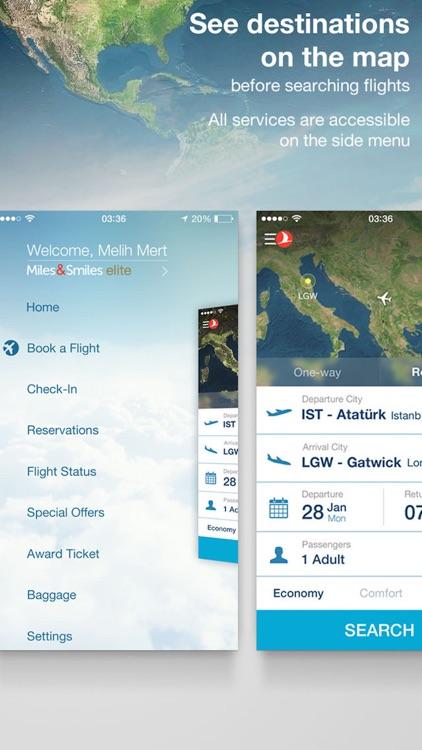 Turkish Airlines - Flights Tickets screenshot-3