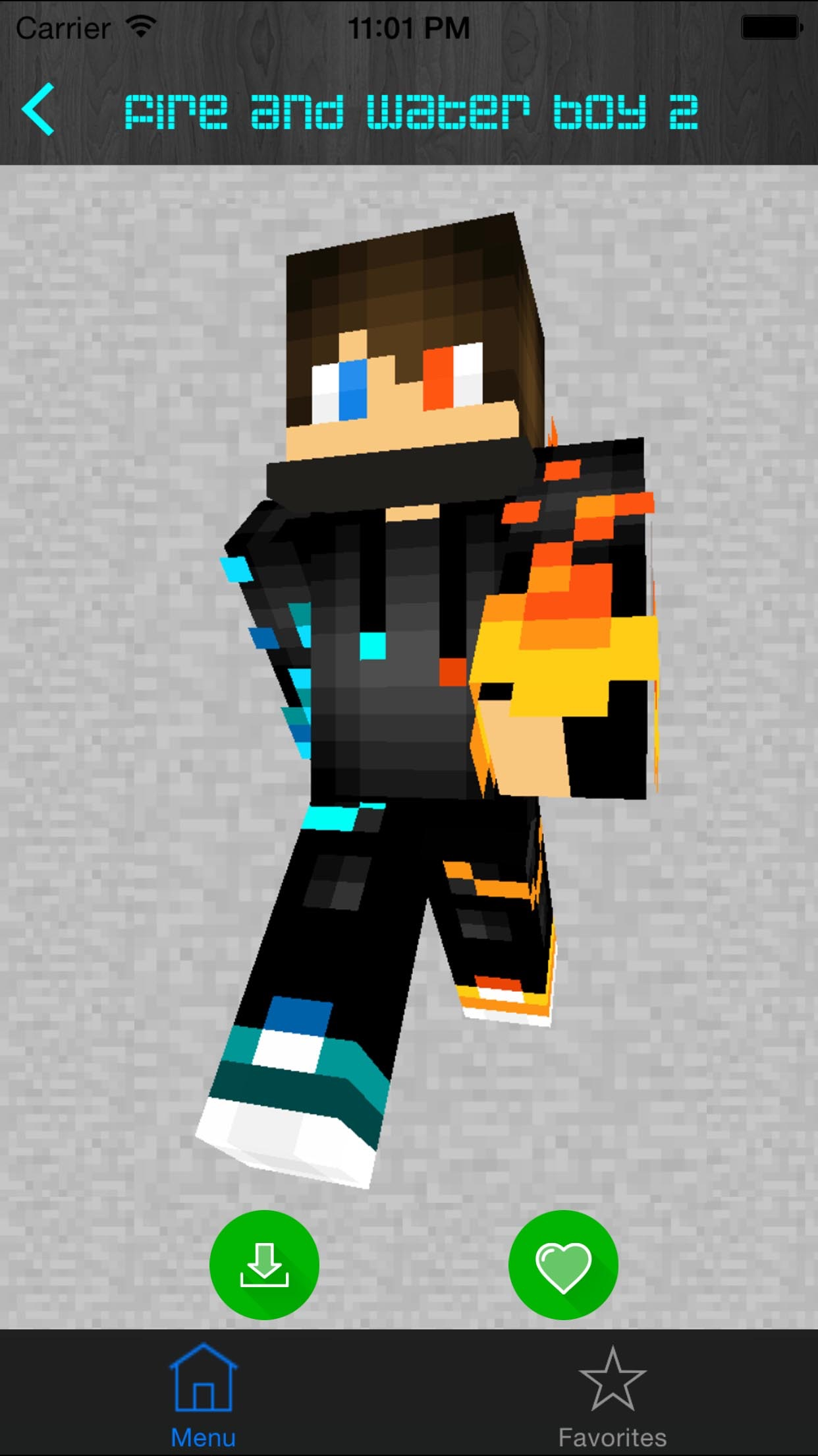 Boy Skins for Minecraft PE (Pocket Edition) - Free Skins App for MCPE PC Screenshot