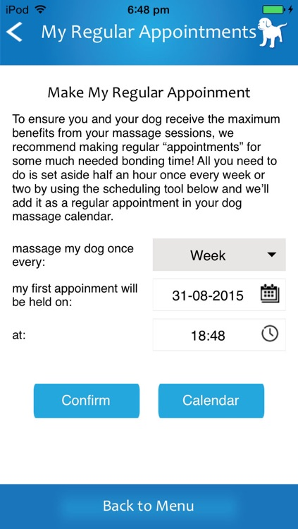 The Dog Massage App screenshot-2