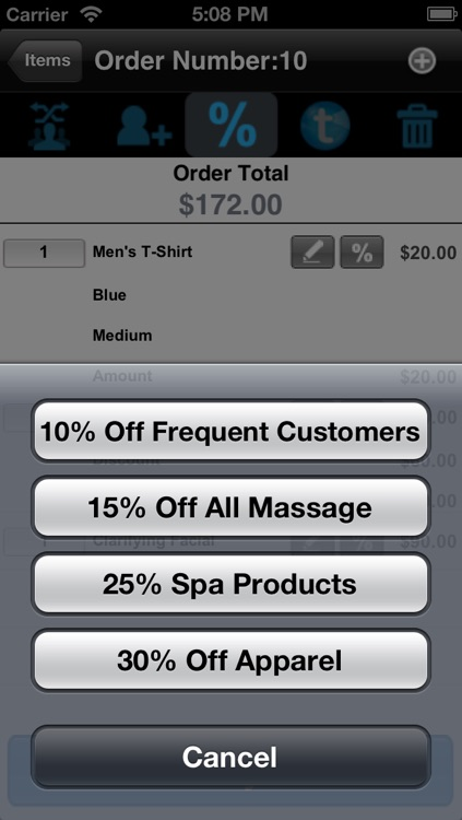 SalesVu POS for iPhone
