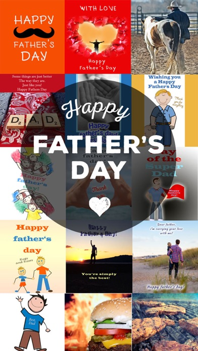 Father's Day Greeting Cards - Picture Quotes & Saying Images screenshot one