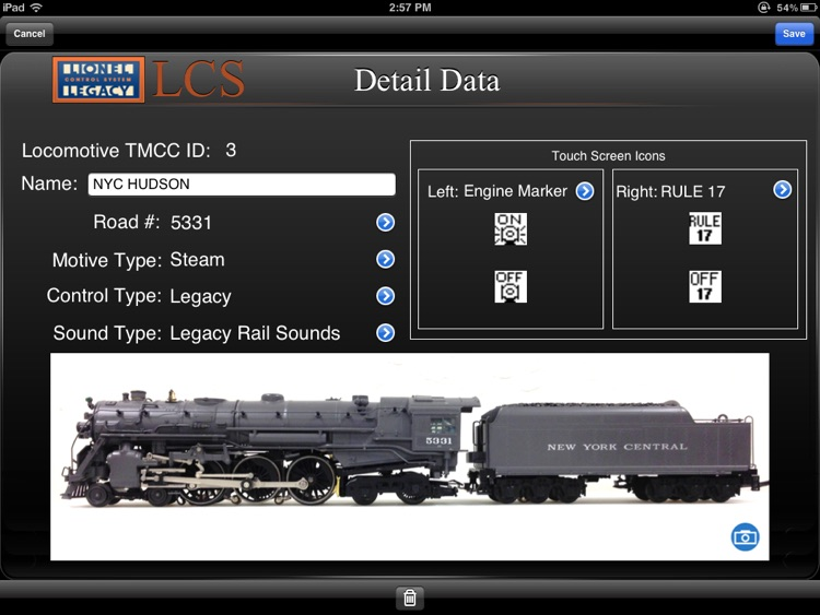 Lionel LCS screenshot-3