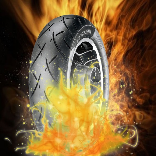 A Driving Motorbike Burn - Awesome High-Powered Motorcycle Highway Game icon