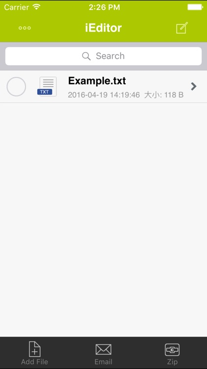 iEditor Pro for iPhone - Text Code Editor