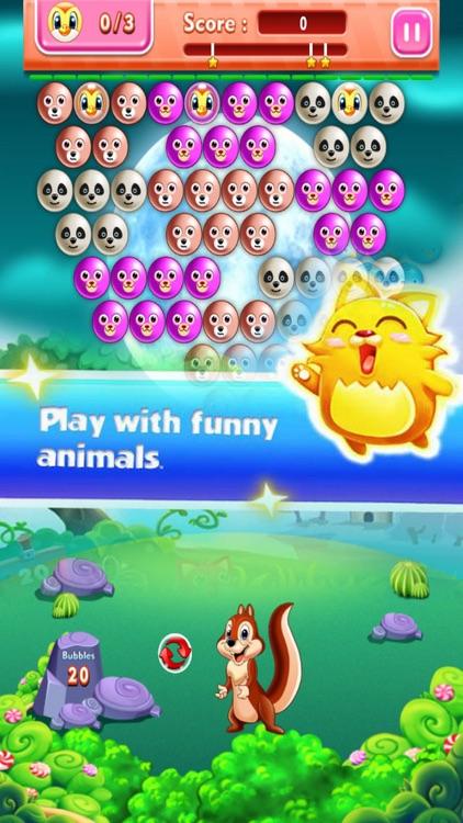 Fantasy Bubble Pop: Pet Shoot