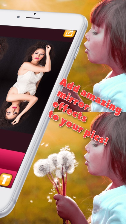 Mirror Reflection Editor – Clone Yourself With New Split Photo Camera Blend.er