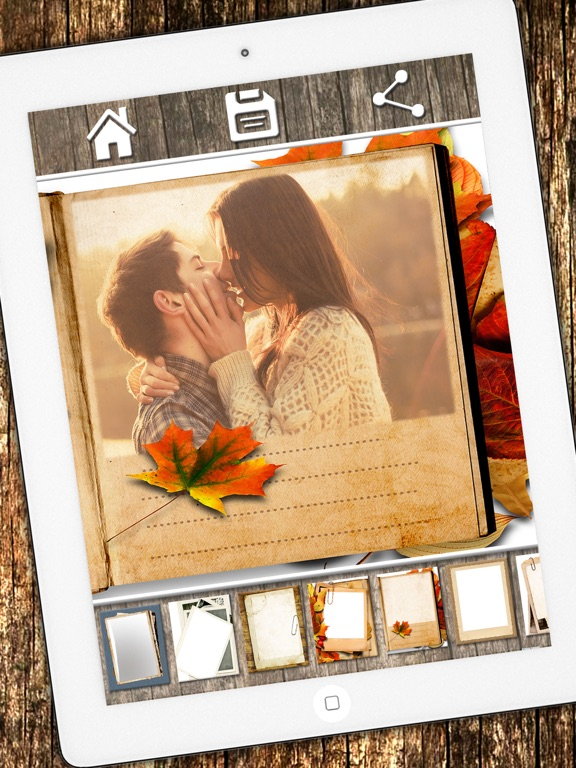 Vintage photo frames - Photo editor for framing and create profiles ...