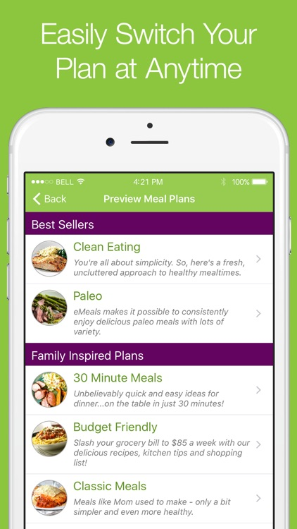 eMeals - Healthy Meal Plans screenshot-3