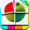 写真分割 無料 - Photo Slice - かわいいコラージュ文字入れスタンプ写真 - iPhoneアプリ