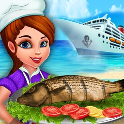 Cruise Ship Thai Food Festival :Top Master-Chef ham-burger Cooking Restaurant pro