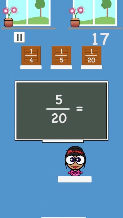 Math Academy - Fractions screenshot-3