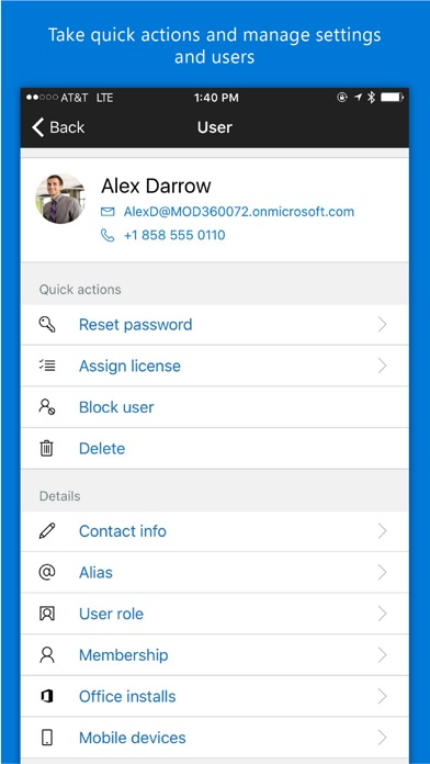 Download Office 365 Admin App